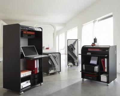 Armoire et meuble informatique de la maison de val rie faites place aux nouveaux bureaux - Armoire informatique ferme ...