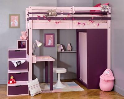 mezzanine de espace loggia des chambres d 39 enfant trop. Black Bedroom Furniture Sets. Home Design Ideas