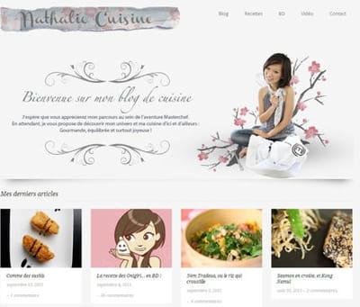 nathalie a créé son blog suite à l'aventure masterchef