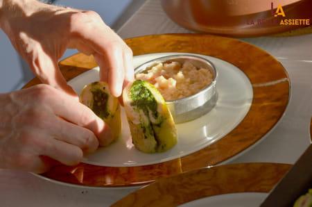 Une graine d 39 id e un d ner comme au restaurant mais - Dressage des plats en cuisine ...