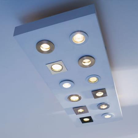 Comment clairer la salle de bains - Spot plafond castorama ...