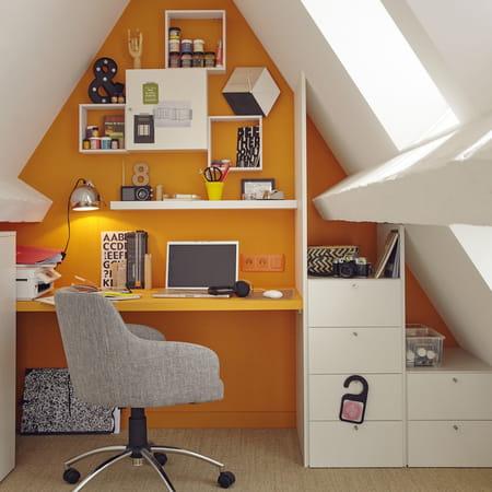 comment am nager un coin bureau dans une chambre. Black Bedroom Furniture Sets. Home Design Ideas