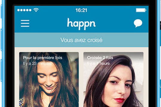 Happn : l'appli pour un coup de foudre à la française
