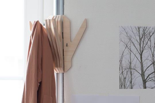 dans la designerbox 20 un portemanteau peindre soi m me. Black Bedroom Furniture Sets. Home Design Ideas