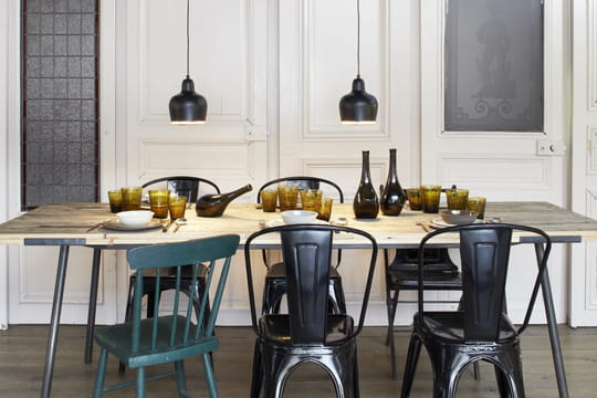 quelle suspension au dessus de la table manger journal des femmes. Black Bedroom Furniture Sets. Home Design Ideas
