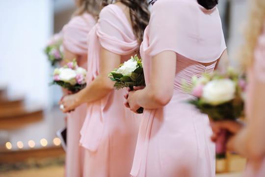 20 robes l gantes pour demoiselles d 39 honneur journal des femmes - Robe de demoiselle d honneur pour un mariage ...
