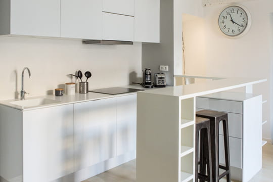 am nager une cuisine les r gles de base journal des femmes. Black Bedroom Furniture Sets. Home Design Ideas
