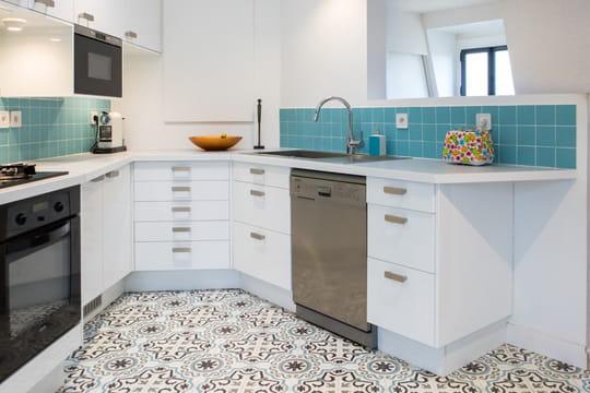 le carreau de ciment un rev tement la fois r tro et. Black Bedroom Furniture Sets. Home Design Ideas