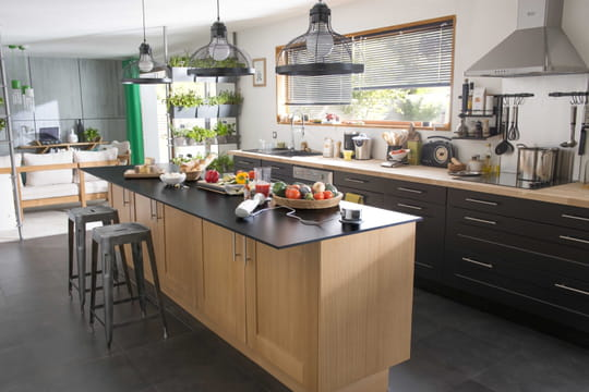 La cuisine castorama en 10 mod les journal des femmes - Modele de cuisine castorama ...