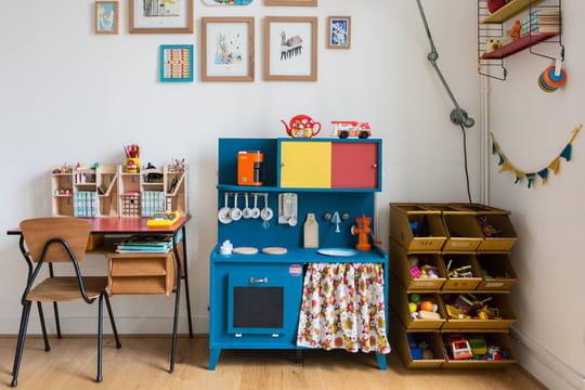 Chambre d'enfant  10 façons de ranger les jouets