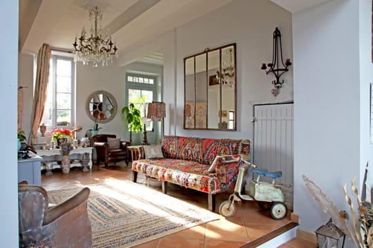 comment d corer et am nager un appartement en rez de chauss e sur cour journal des femmes. Black Bedroom Furniture Sets. Home Design Ideas