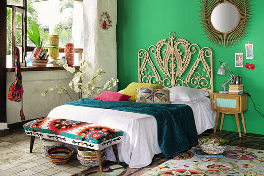 les indispensables d 39 une d co gipsy et boh me chic journal des femmes. Black Bedroom Furniture Sets. Home Design Ideas