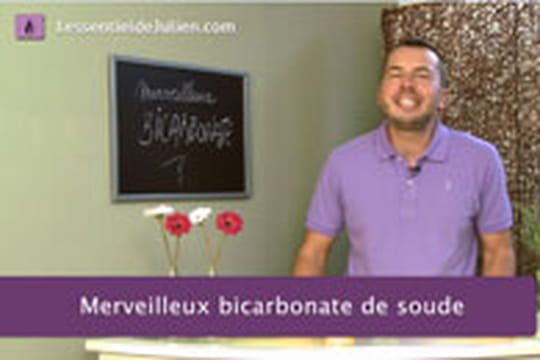 L 39 essentiel de julien les bienfaits du bicarbonate de soude for Detartrage bicarbonate de soude