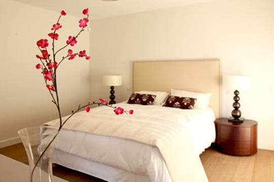 des chambres zen pour se d tendre journal des femmes. Black Bedroom Furniture Sets. Home Design Ideas
