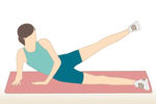 10 exercices pour s 39 affiner les jambes journal des femmes. Black Bedroom Furniture Sets. Home Design Ideas