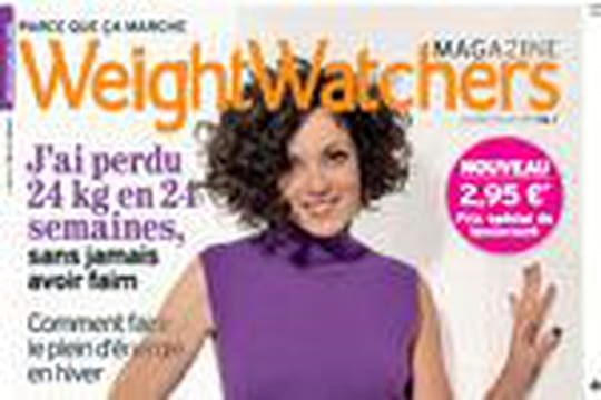 le nouveau magazine weight watchers en kiosque journal des femmes. Black Bedroom Furniture Sets. Home Design Ideas
