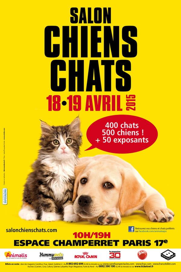 Salon Chiens Chats : un week-end en très bonne compagnie !