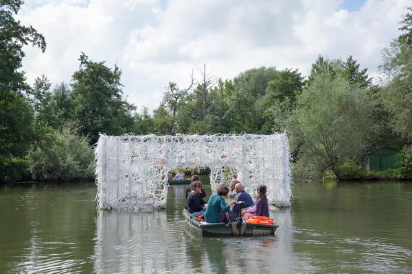 Hortillonnages d 39 amiens place au festival art villes for Amiens foire expo