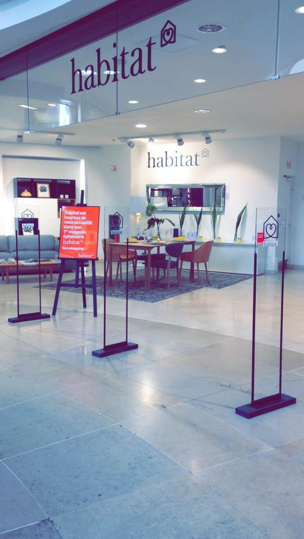 Habitat ouvre son premier pop up store paris - Monoprix rue de passy ...