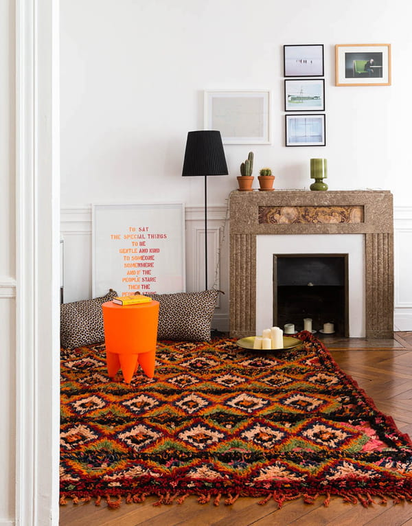 tapis berb re et kilim comment int grer un tapis ethnique sa d co. Black Bedroom Furniture Sets. Home Design Ideas