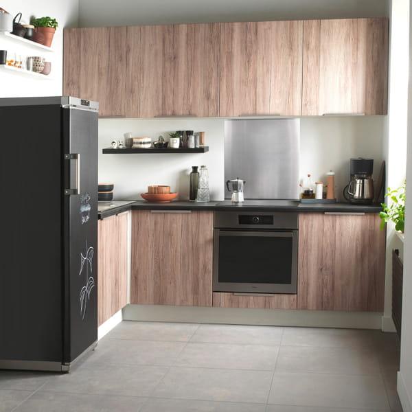 11 id es pas ch res pour relooker sa cuisine - Relooker sa cuisine en bois ...