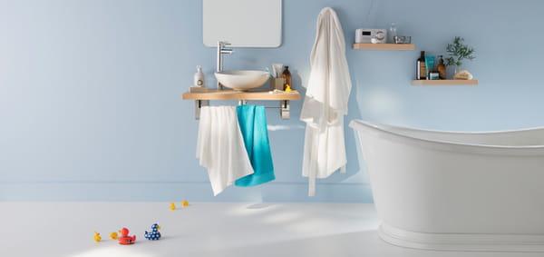 quelle peinture pour la salle de bains. Black Bedroom Furniture Sets. Home Design Ideas