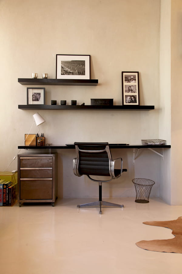 10 id es pour installer un coin bureau dans un petit espace. Black Bedroom Furniture Sets. Home Design Ideas