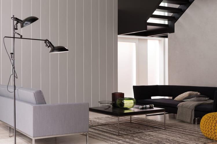 peinture pour lambris en pvc julien le lambris fait peau. Black Bedroom Furniture Sets. Home Design Ideas