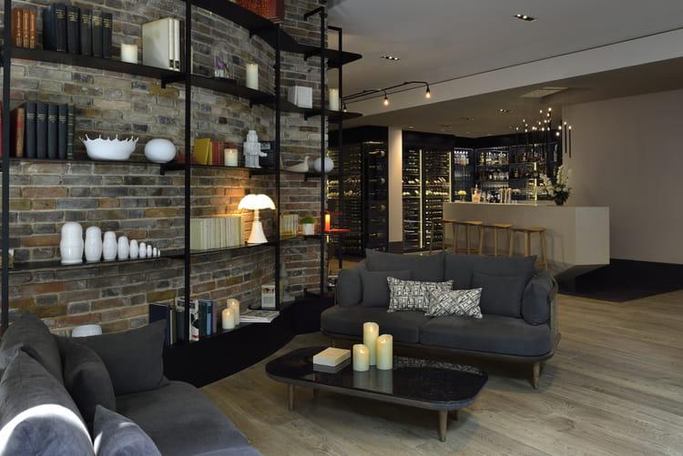 le coin salon cosy. Black Bedroom Furniture Sets. Home Design Ideas