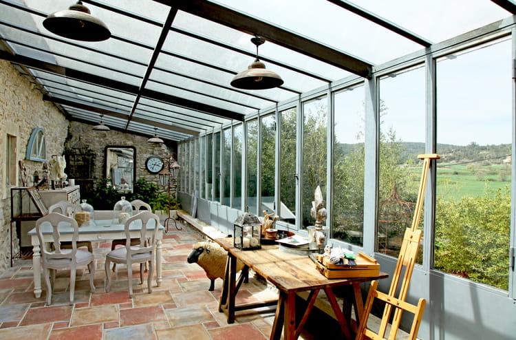 Des v randas et jardins d 39 hiver pleins de charme journal des femmes - Isolation veranda hiver ...