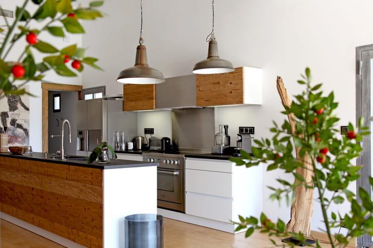 Comment relooker une cuisine rustique journal des femmes - Comment relooker une cuisine ...
