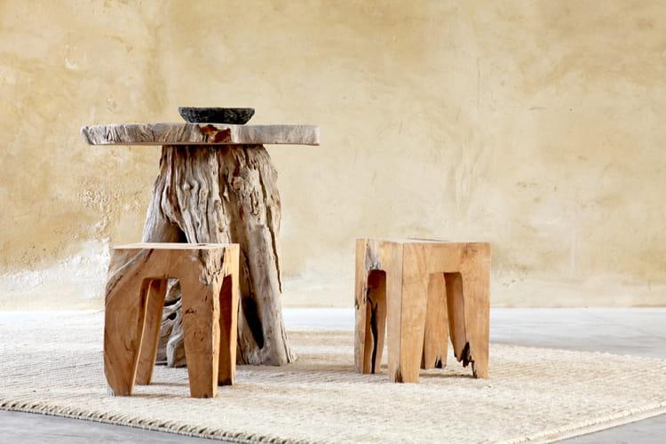 meubles en bois flott le wabi sabi en d co d cryptage journal des femmes. Black Bedroom Furniture Sets. Home Design Ideas