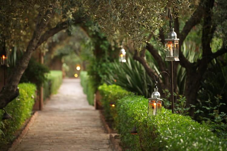 Jardins priv s de la maison arabe la maison arabe for A la maison en arabe