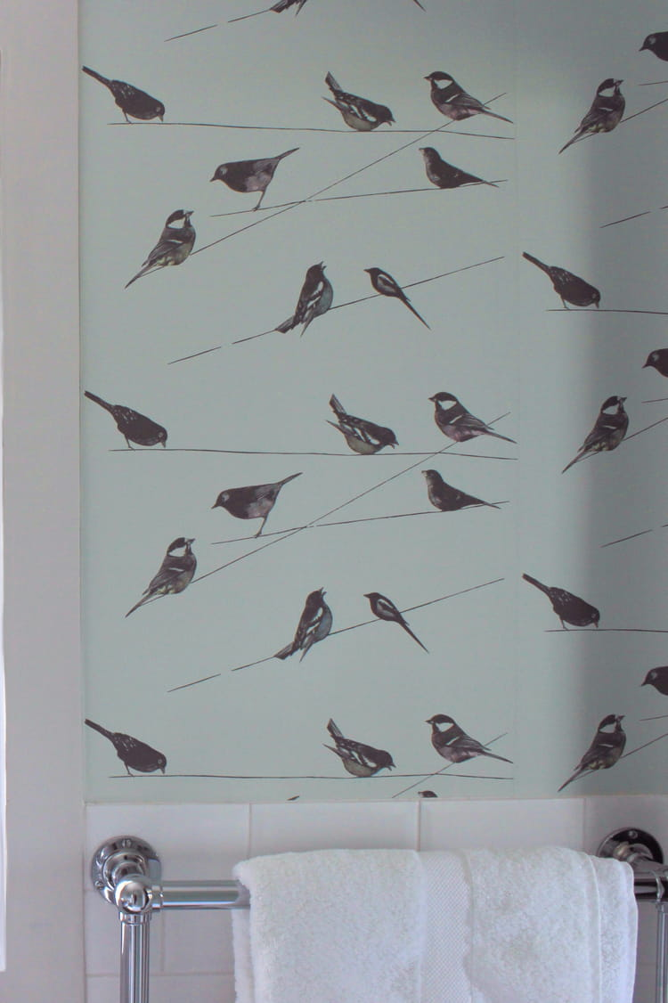 Papier Peint Garden Birds De The Collection Le Papier