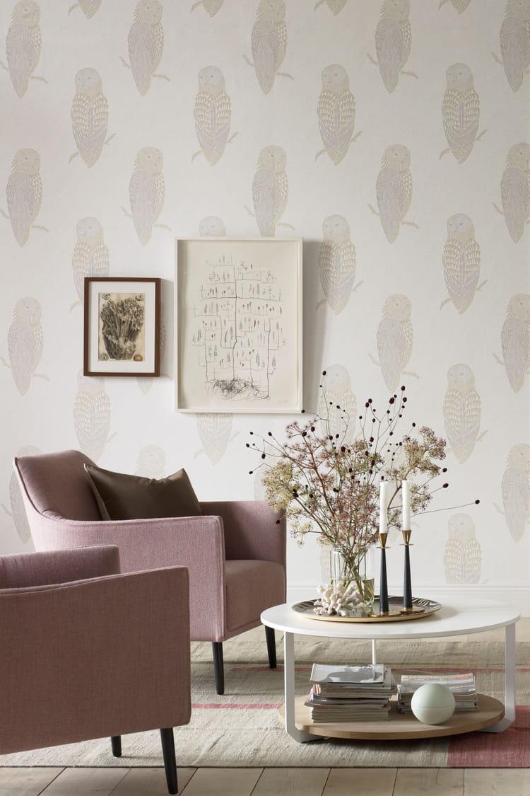 Papier peint brooklyn de sandberg le papier peint motifs en met plein la - Papier peint motif journal ...