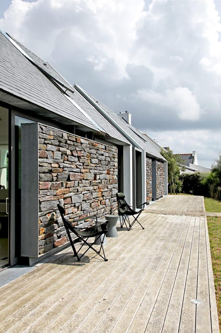 la terrasse face la mer terrasse en bois 30 id es copier journal des femmes. Black Bedroom Furniture Sets. Home Design Ideas