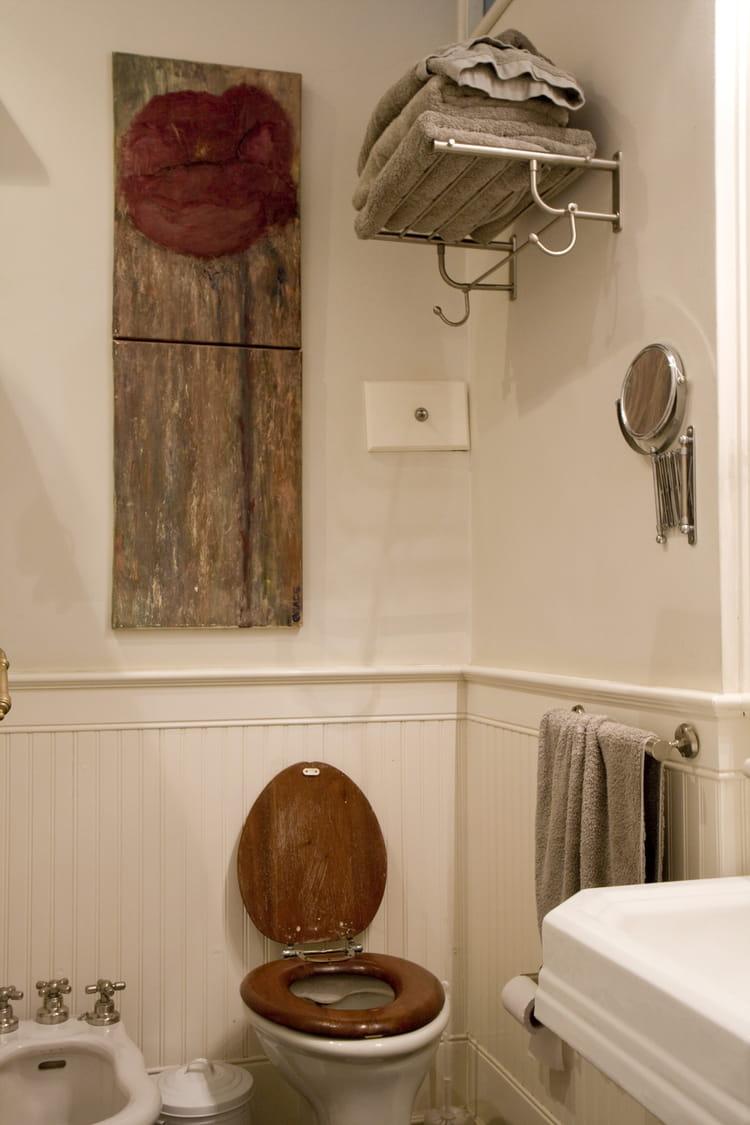 D co authentique toilettes on se l che sur la d co journal des femmes - Journal des femmes deco ...