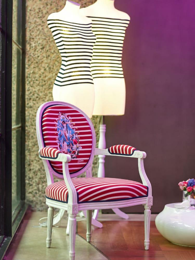 fauteuil florian la r trospective d co de jean paul gaultier journal des femmes. Black Bedroom Furniture Sets. Home Design Ideas