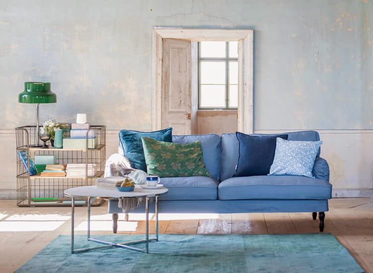 housse de canap stocksund d 39 ikea les nouveaux canap s ikea relook s par bemz journal des femmes. Black Bedroom Furniture Sets. Home Design Ideas
