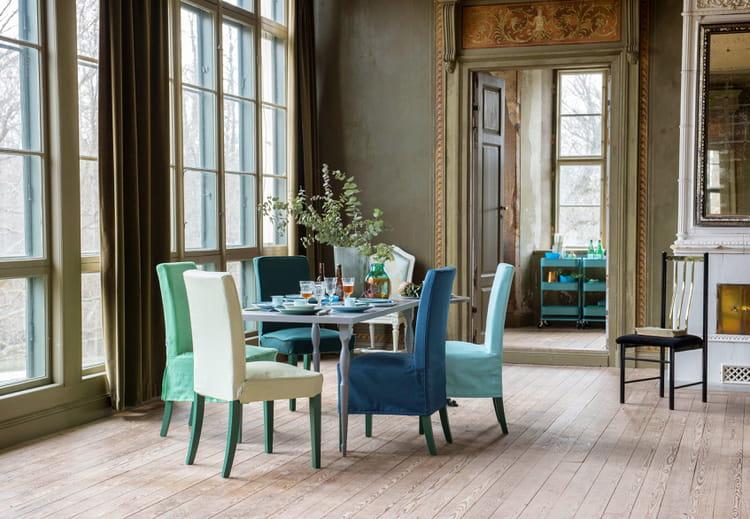 housse de chaise henriksdal d 39 ikea. Black Bedroom Furniture Sets. Home Design Ideas