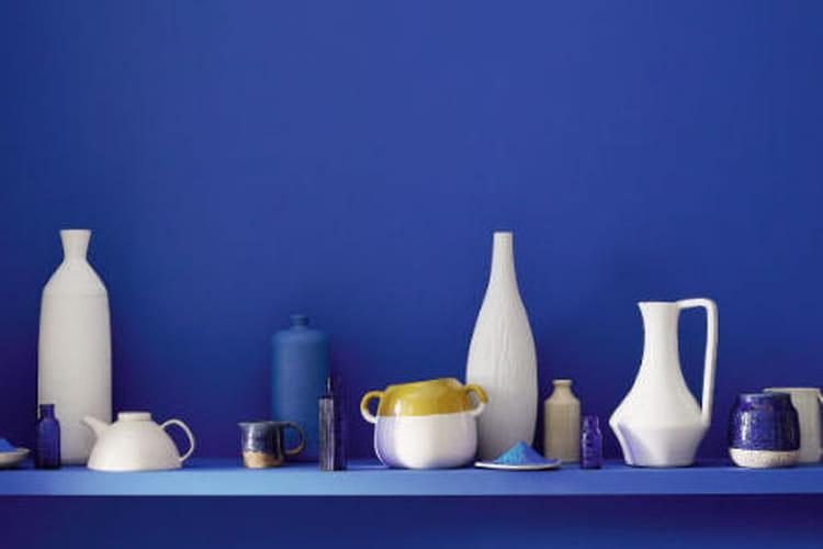 little greene explore les nuances de bleu. Black Bedroom Furniture Sets. Home Design Ideas