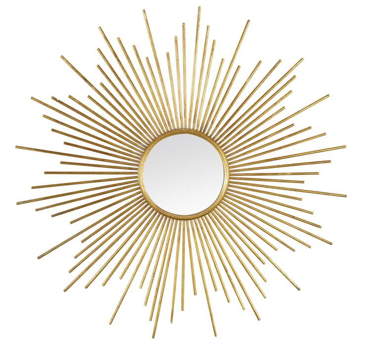 miroir soleil de leroy merlin. Black Bedroom Furniture Sets. Home Design Ideas