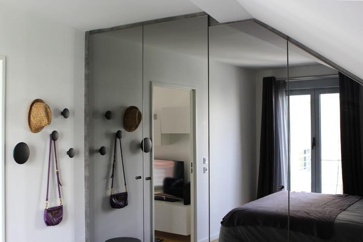 dressing sur mesure un 50 m chic et ing nieux paris journal des femmes. Black Bedroom Furniture Sets. Home Design Ideas