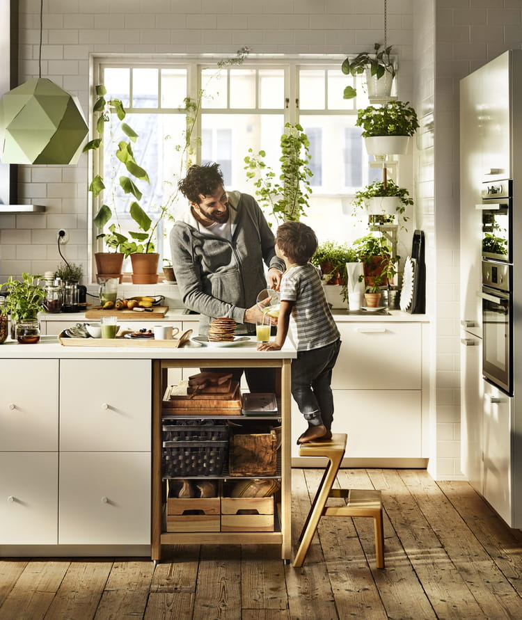 la cuisine de 2016 selon ikea journal des femmes. Black Bedroom Furniture Sets. Home Design Ideas