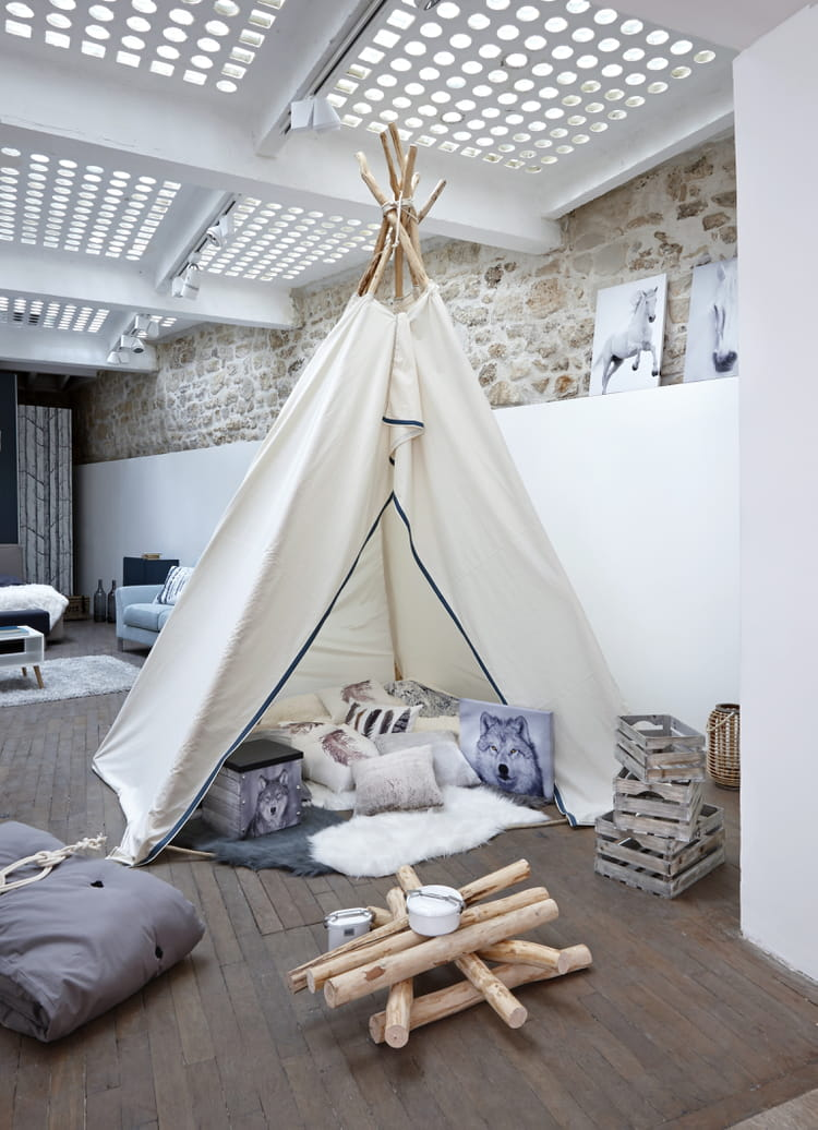 Tipi cosy but for Tipi chambre enfant
