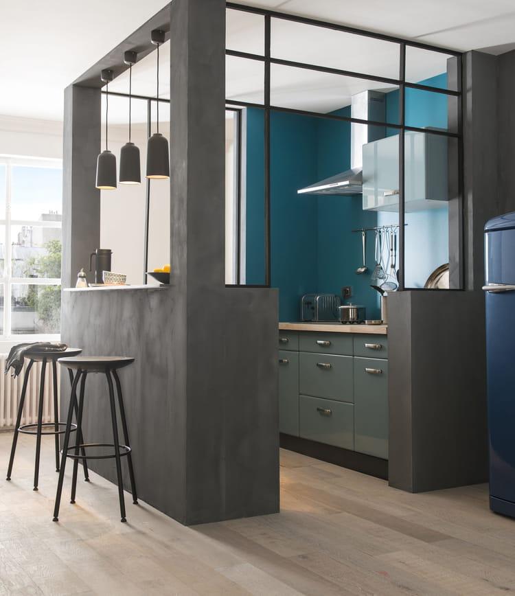 cuisine r tro sixties cooke lewis chez castorama des cuisines modernes d exception pour fins. Black Bedroom Furniture Sets. Home Design Ideas