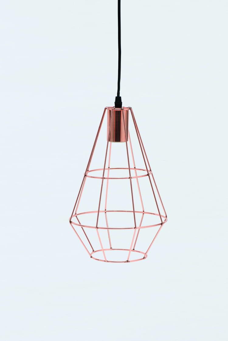Suspension filaire de monoprix petit prix pour d co for Suspension luminaire filaire