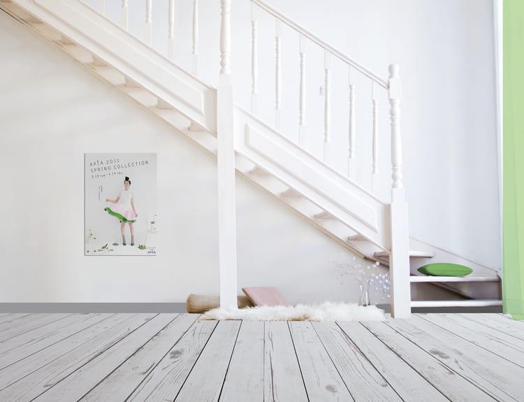 De la peinture sp ciale parquet relook bois parquet blanchi le meilleur ami pour une d co for Peinture v pour parquet stratifie