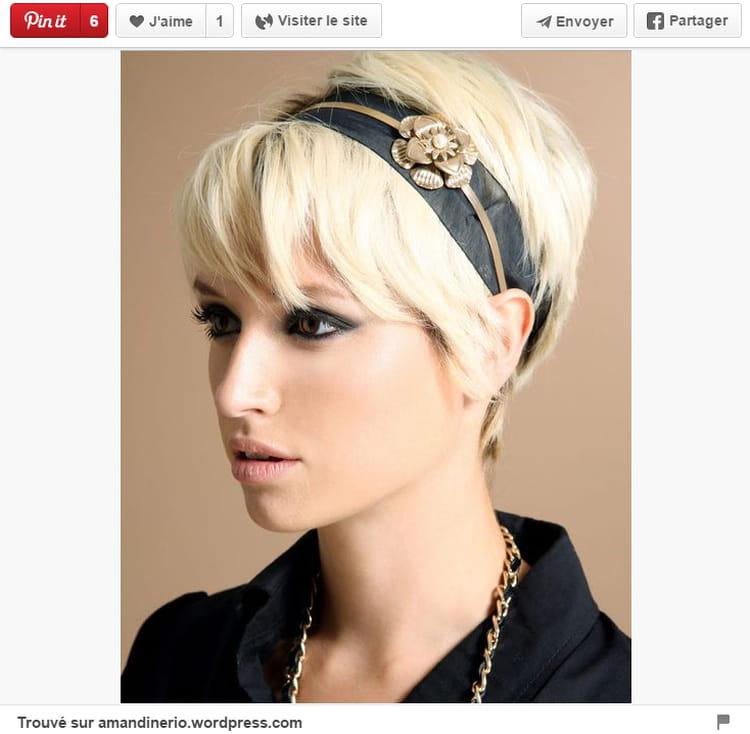 serre t te dor 20 coiffures pour briller pendant les f tes journal des femmes. Black Bedroom Furniture Sets. Home Design Ideas