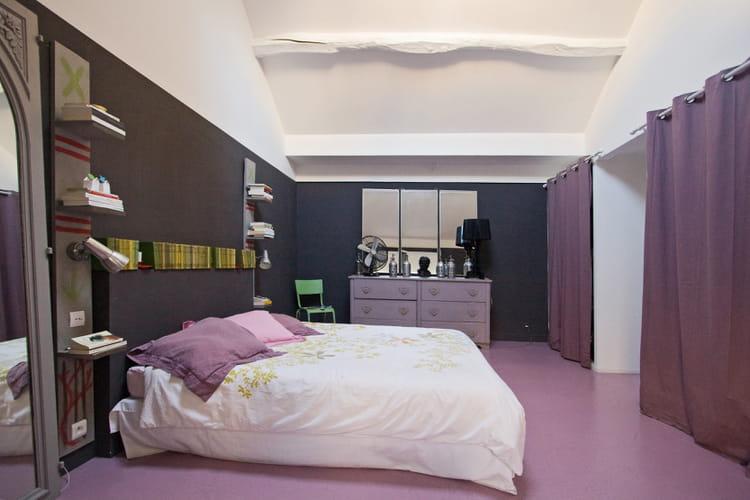 une d coration d 39 int rieur couleur lilas journal des femmes. Black Bedroom Furniture Sets. Home Design Ideas
